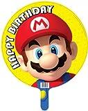 """Super Mario """"Happy Birthday"""" lámina Balloon (desinflado)"""