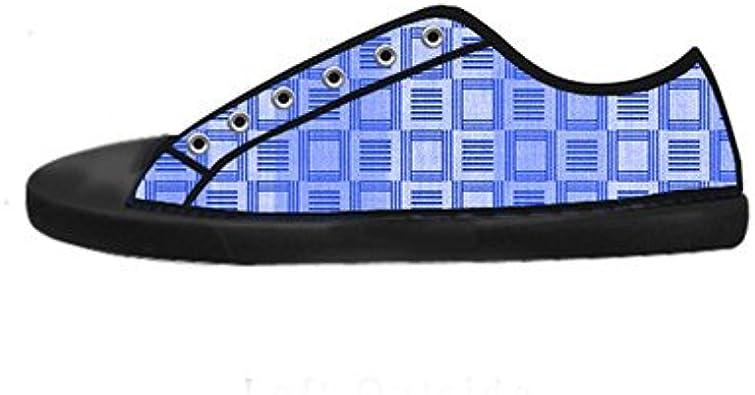 Daniel Turnai Fan Customized Peacock Feathers New Sneaker Canvas Shoes for Women