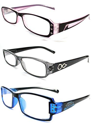 reading-glasses-trendy-georgio-caponi-designer-fashion-reader-value-pack-3-pairs-of-glasses-purple-g