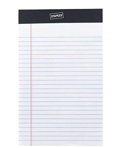 Staples Perforated Notepad