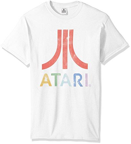 Atari Men's Classic Colorful Logo Men's T-Shirt