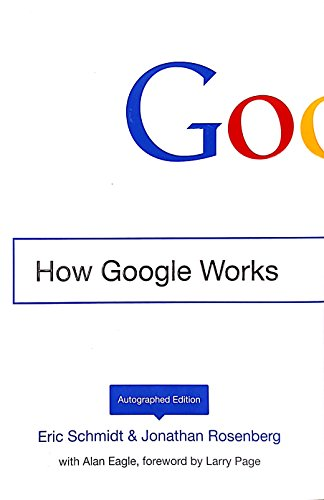 How Google Works - Autographed Edition