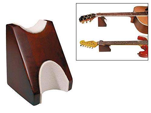 Mahongany Neck Rest for guitar, bass, banjo, ukulele and more