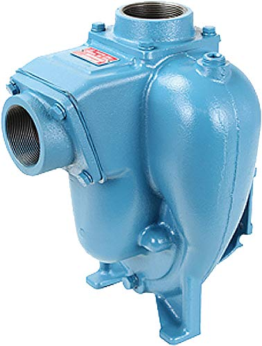 5.0 Impeller Single Phase Motor Foot Adapter 5.0 Impeller MP Pumps 30935 FLOMAX8 2 x 2 Self Priming Centrifugal Pump Cast Iron 3 hp Closed Couple 56C Manual Thermal Overload
