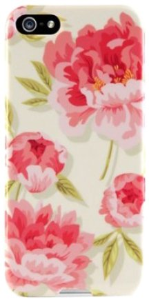 Agent18 P5SSL/51 SlimShield Limited Case for Apple iPhone 5 - Retail Packaging - Vintage Floral Pink Agent 18 Shock Shield