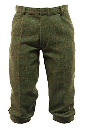 Edwardian Men's Pants Derby Tweed Breeks - 30 to 44