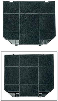 1 filtro para campana faber ariston 26,6 x 23.6 cm franke con carbón activo: Amazon.es: Hogar