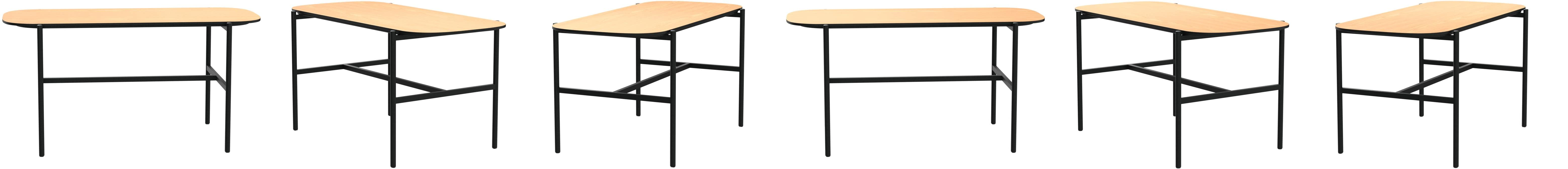 End Table Walnut Effect Movian Kyyvesi Brand 40 x 40 x 40 cm
