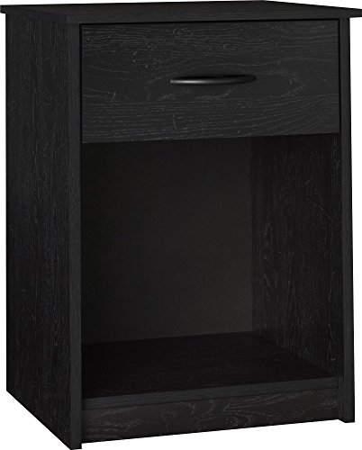 Ameriwood Home Core Nightstand, Black Oak (Nightstand 30)