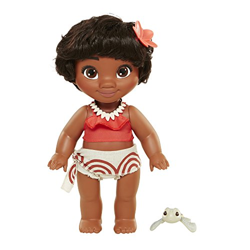 [Disney Young Moana Doll - 12 Inches] (South Pacific Costumes)