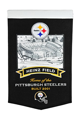(Winning Streak NFL Pittsburgh Steelers Heinz Field Stadium Banner)