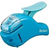 Kokuyo Stapleless Stapler Harinacs Compact Alpha, Blue (SLN-MSH305B)