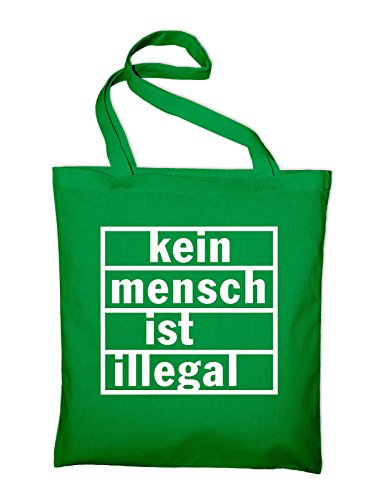 Kein Ist Jute Illegal green Green Fabric In Cotton Bag And Tasche Bag Styletex23jtillegal4 Mensch rqRIwr