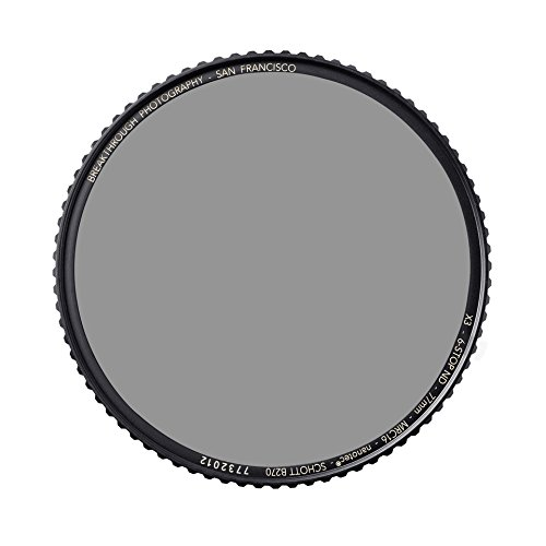 Breakthrough Photography 82mm X4 10-Stop ND Filter Camera Lenses, Neutral Density Professional Photography Filter Lens Cloth, MRC16, Schott B270 Glass, Nanotec, Ultra-Slim, Weather-Sealed by Breakthrough Photography (Image #7)