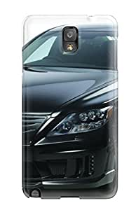 Case Cover 2010 Wald Lexus Ls600h Black Bison/ Fashionable Case For Galaxy Note 3