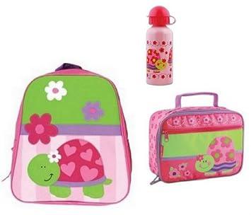 Stephen Joseph GoGo Girls Turtle Backpack,