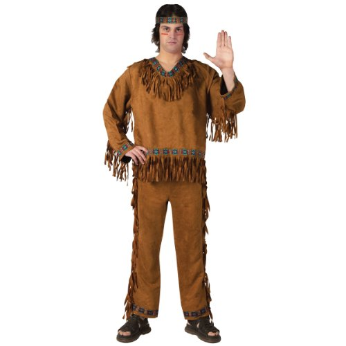 Indian Halloween Costumes For Men (Adult Native American Man Costume)