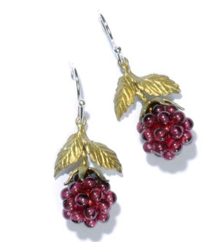 Michael Michaud Raspberry Wire Drop Earring 4088