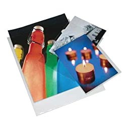 Print File 6-mil Polypropylene Presentation Pockets, 12x18\