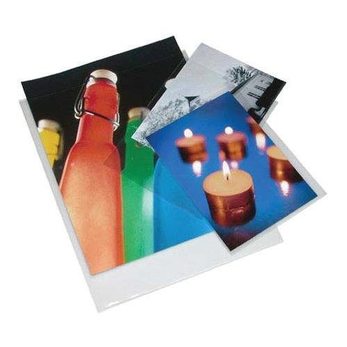 Print File 6-mil Polypropylene Presentation Pockets, 12x18''-100, (12x18-6PR-100) by Print File