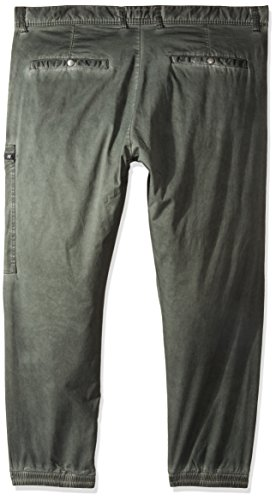 Ab17jn03 Akademiks Olive Pantalon Homme Vert Uv4f5q