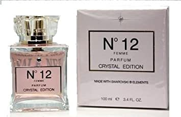 Amazon.com   SWAROVSKI CRYSTAL EDITION NO 12 PARFUM 3.4 WOMAN   Eau De  Parfums   Beauty 041938a89b