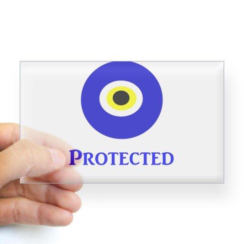 CafePress Evil Eye Sticker Rectangle - Standard
