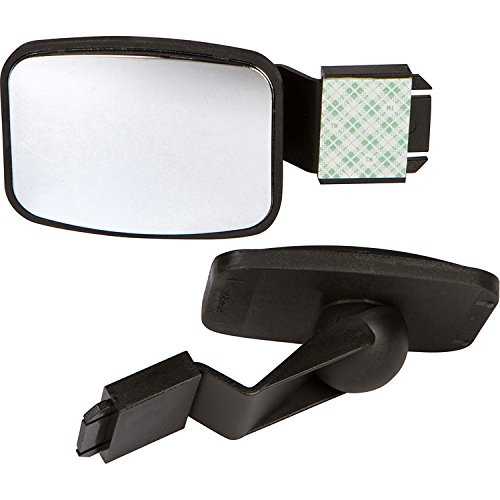 Cubicle Mirror to See Behind You, Accessories for Office Desk, Computer Convex Monitor Rearview Mirror