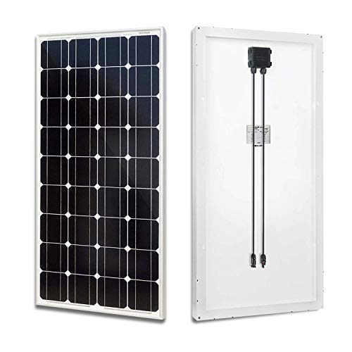 Why Should You Buy ECO-WORTHY 100 Watt Solar Panel 12 Volts Monocrystalline Solar Panel High Efficie...