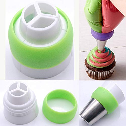 Cake Piping Tips Russian Cake Nozzles Icing Tips Pastry Bag For Cake Cupcake Decorating Supplies Set (30 PCS) by Monster* (Image #4)
