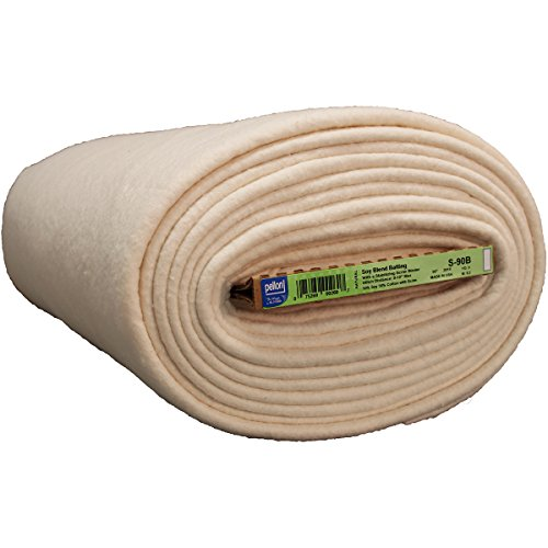 S-90B BATTING SOY BLEND-90''X9YD by Pellon