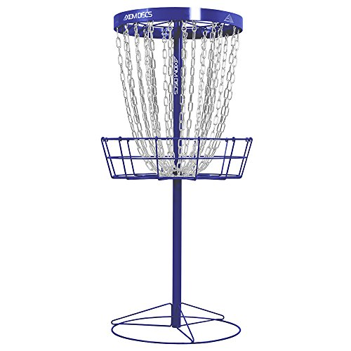 Axiom Discs Pro 24-Chain Disc Golf Basket - Royal Blue