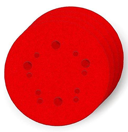 Diablo DCD050220H04G 5 in. 220-Grit Universal Hole Random Orbital Sanding Disc (4-Pack)
