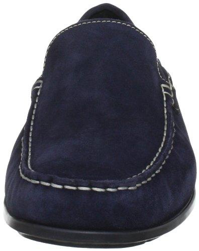 Mephisto ALGORAS VELOURS 9895 JEANS BLUE P5052113 - Mocasines de cuero para hombre Azul (Blau (JEANS BLUE VELOURS 9895))