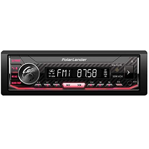 Car Radio,Car Stereo Bluetooth, Car Radio Bluetooth, Car MP3 Player, Single Din Removable Panel Voice Control Hands-free…