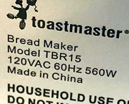 2 Toastmaster TBR15 TBR2 Paddle Pan máquina hoja nueva parte ...