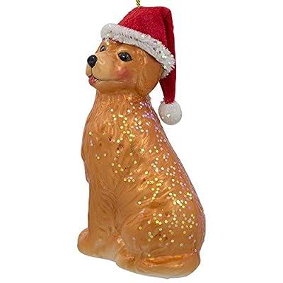 BestPysanky-Golden-Retriever-in-a-Santa-Hat-Blown-Glass-Christmas-Ornament-4-Inches