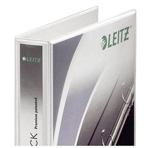 ESSELTE LEITZ PRES BINDER WHT 42040001