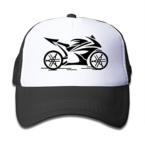 Lovely Baby Children's Ymha Motorcycle Moto Design Dancing Caps Black