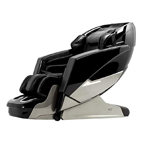 Osaki Os-Pro Ekon Zero Gravity Massage Chair, 3D-L-Track, Calf Rollers, Calf and Knee Kneading, Dual Foot Rollers, Bluetooth Speakers (Black)