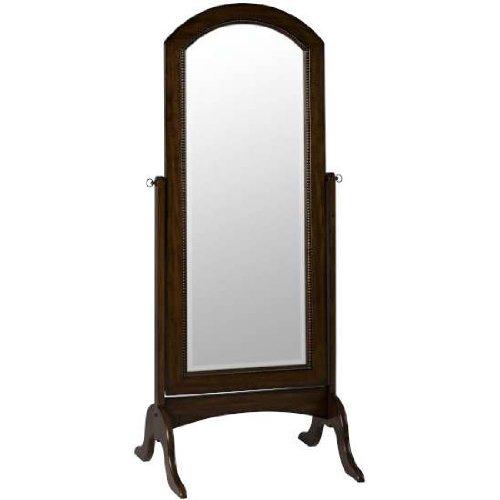 Cooper Classics 6135 Laurel Cheval Floor Mirror, Rustic Mahogany