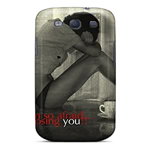 Premium [tad2178QZXE]so Afraid Case For Galaxy S3- Eco-friendly Packaging