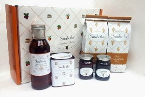 Sarabeth's Signature Collection 6 Piece Gift Box Set - Jams, Pancake Mix, Hot Chocoloate, and Syrup - Pack of 3 by Sarabeth's