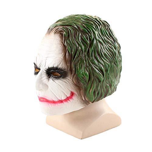 Halloween Costume Clown Joker 3D Mask Cosplay Costume