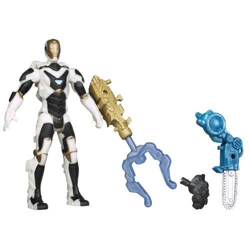 (Marvel Iron Man 3 Avengers Initiative Assemblers Interchangeable Armor System Starboost Iron Man Figure)