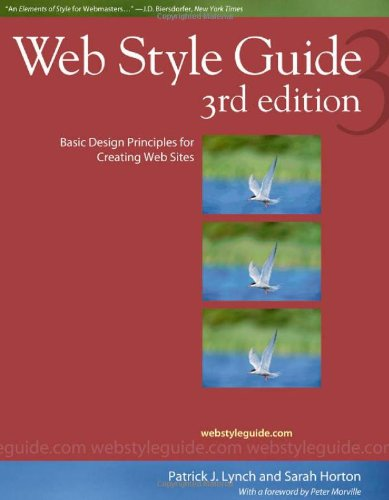 Web Style Guide: Basic Design Principles for Creating Web Sites