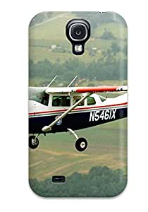 DzNhwKZ8443Lqhtg Tpu Phone Case With Fashionable Look For Galaxy S4 - Aircraft