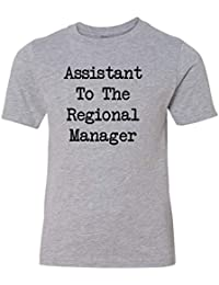 ac4ea4429 Regional Manager & Assistant to The Regional Manager - Baby Bodysuit &  T-Shirt Matching