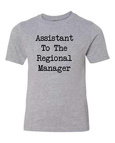 Assistant to The Regional Manager - Toddler T-Shirt Add-On (Heather, Youth Add-On 2T) -
