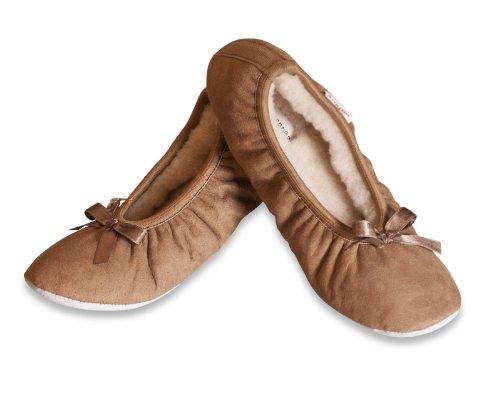 Bailarina Pantuflas Estilo Camello Saga Shepherd w8Sq54n